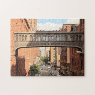 A view from the High Line: National Biscuit Bridge Puzzles