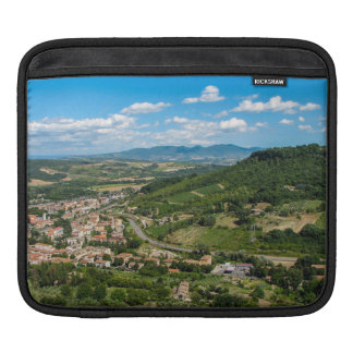 A view from the Italian town of Orvieto iPad Sleeve