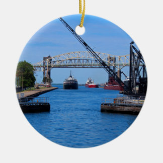 A View from the Soo-FA,s6,2020 Ceramic Ornament