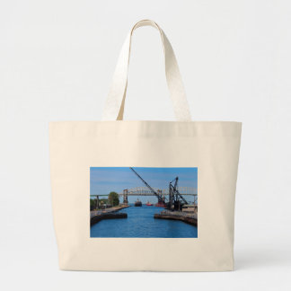 A View from the Soo-FA,s6,2020 Large Tote Bag