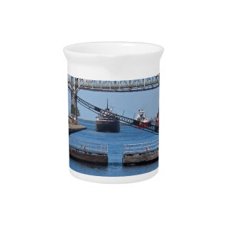 A View from the Soo II Drink Pitcher