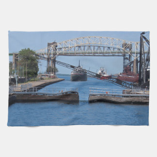 A View from the Soo II Hand Towels