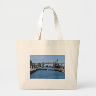 A View from the Soo II Large Tote Bag