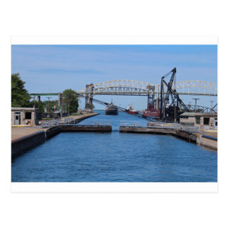 A View from the Soo II Postcard
