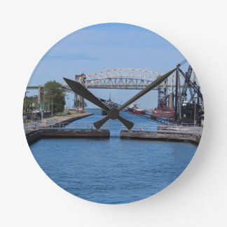 A View from the Soo II Round Clock