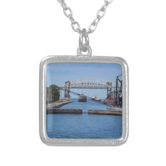 A View from the Soo II Silver Plated Necklace