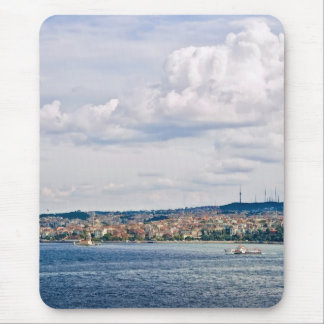 A View From Topkapi Palace To The Maiden Tower Mouse Pad