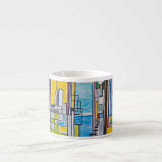 """""""A View In Rio I"""" Espresso Cup"""