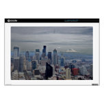 """A view in seatle 17"""" laptop skins"""