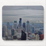A view in seatle mouse pads