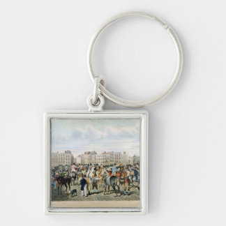 A View in Smithfield engraved by F.C. & C. Lewis Keychain