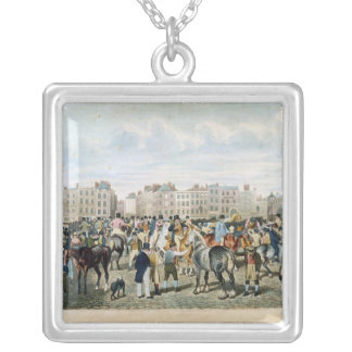 A View in Smithfield engraved by F.C. & C. Lewis Silver Plated Necklace