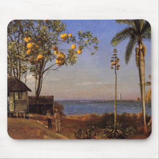 A view in the Bahamas - Albert Bierstadt Mouse Pad