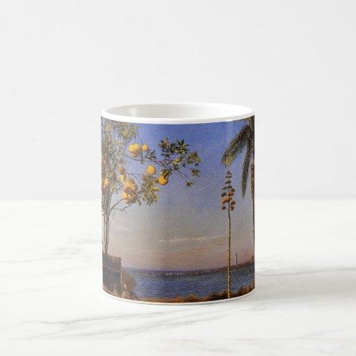 A view in the Bahamas - Albert Bierstadt Mugs