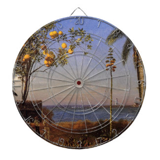 A View in the Bahamas by Bierstadt Albert. Dartboard With Darts