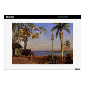 "A View in the Bahamas by Bierstadt Albert. Skins For 15"" Laptops"