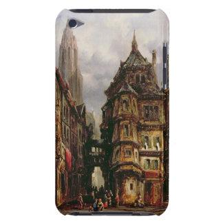 A View in the Jewish Quarter, Frankfurt, 1877 (oil iPod Case-Mate Cases