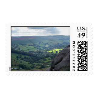 A View in the Peak District Stamp