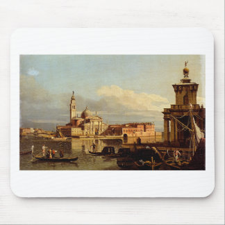 A View In Venice From The Punta Della Dogana Towar Mouse Pad