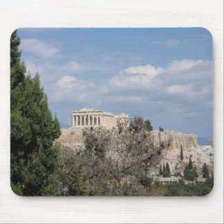 A view of Acropolis from Filopappou Hill Mousepads