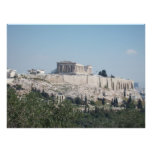 A view of Acropolis from Filopappou Hill Posters