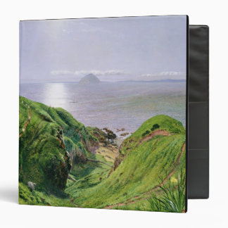 A View of Ailsa Craig and the Isle of Arran, 1860 3 Ring Binder