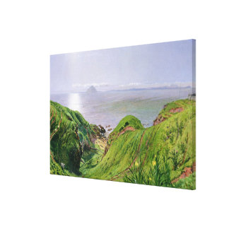 A View of Ailsa Craig and the Isle of Arran, 1860 Gallery Wrap Canvas