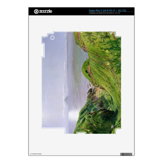 A View of Ailsa Craig and the Isle of Arran, 1860 Decal For iPad 3