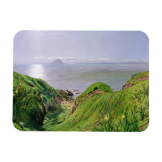 A View of Ailsa Craig and the Isle of Arran, 1860 Magnet