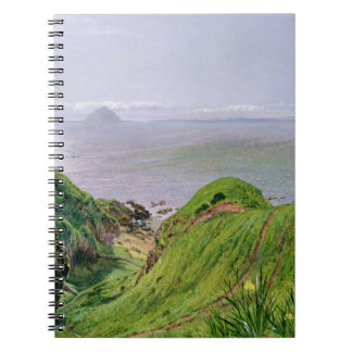 A View of Ailsa Craig and the Isle of Arran, 1860 Notebook