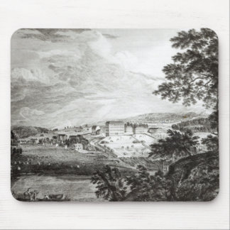 A View of Bethlem the Great Moravian Mousepad