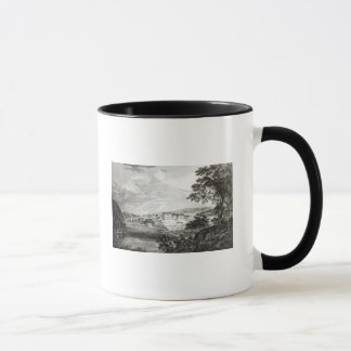 A View of Bethlem the Great Moravian Mug