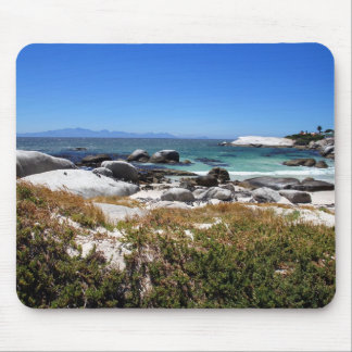A view of Boulders beach and its famous penguins Mouse Pad