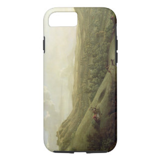 A View of Boxhill, Surrey, with Dorking in the Dis iPhone 7 Case