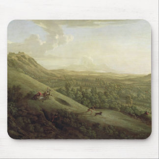 A View of Boxhill, Surrey, with Dorking in the Dis Mouse Pad