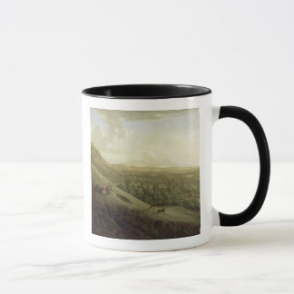 A View of Boxhill, Surrey, with Dorking in the Dis Mug