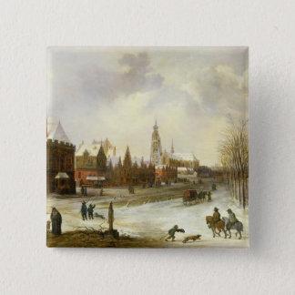 A View of Breda Button