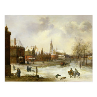 A View of Breda Postcard