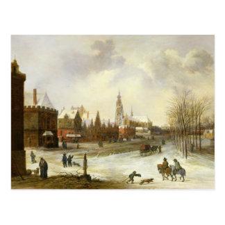 A View of Breda Postcard