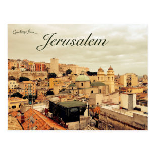 Travel Souvenir Postcards From Jerusalem Israel Amad Three Post Cards By I