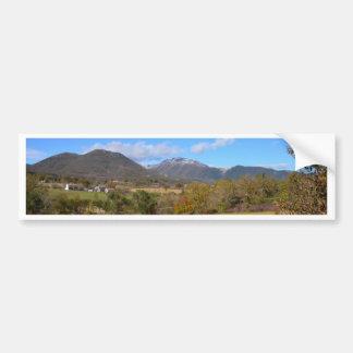 A View Of Calabria Bumper Sticker