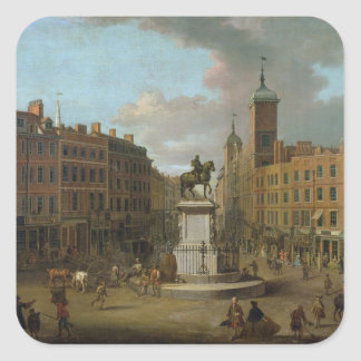 A View of Charing Cross and Northumberland Square Sticker