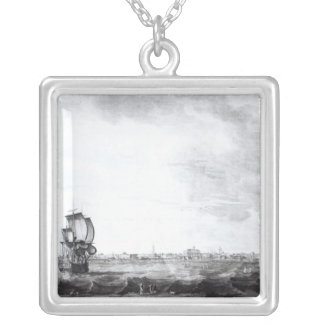 A View of Charles-Town Silver Plated Necklace