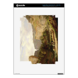 A View of Cheddar Gorge (oil on canvas) iPad 3 Decals