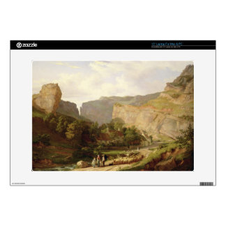 """A View of Cheddar Gorge (oil on canvas) Skin For 15"""" Laptop"""