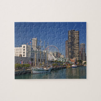 A view of Chicago's Navy Pier 2 Jigsaw Puzzle