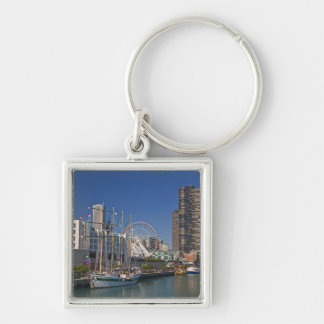 A view of Chicago's Navy Pier 2 Key Chain