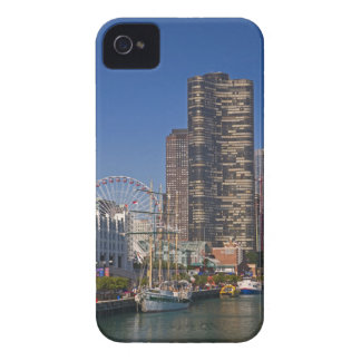 A view of Chicago's Navy Pier iPhone 4 Case-Mate Case