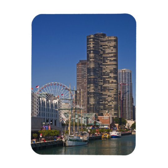 A view of Chicago's Navy Pier Magnet