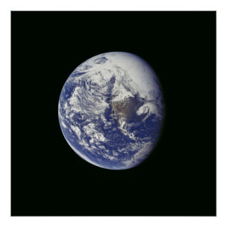 A View of Earth from Apollo 16 Posters